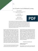 [P] [Bruenken, Plass, Leutner, 2008] Direct measure of CL in multimedia learning.pdf