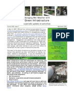 Managing Wet Weather with Green Infrastructure, September 2008 Bulletin