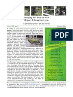 Managing Wet Weather with Green Infrastructure, November 2008 Bulletin