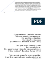 Versos Artes Visuais - Ewertton