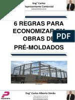 5178fc90abf 6 Regras Para Economizar Em Obras de Pré-moldados