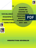 Socialización Esquema Ordenamiento Territorial Marzo 28 de 2015