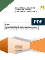 Proceso Para Registro de Marca en Ecuador
