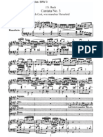 BWV3 - Ach Gott, wie manches Herzeleid [I]