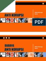 Budaya Anti Korupsi-KS
