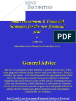 Edition 11 - Chartered 21 July 2010 - Smart Investment & Financial Strategies for the New Financial Year
