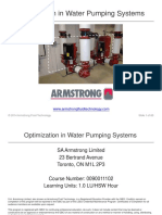 Optimization in HVAC Pumping Systems