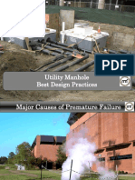 Utility Manhole Best Design Practices