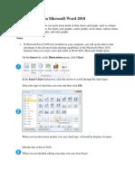 Charts Document