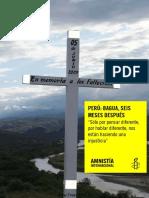 Perú, Bagua Seis Meses Despues