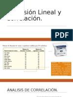 Regresión Lineal y Correlacióndacea