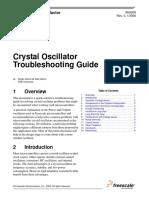 Crystal Oscillator Troubleshooting Guide