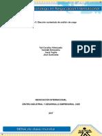 Evidencia 3 Elección Sustentada de Análisis de Cargo