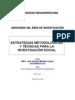 estrategias metodologicas y tecnicas de investigacion social cualitativa