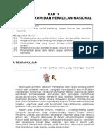 Kelas X KD II Sistem Hukum Dan Peradilan Nasional