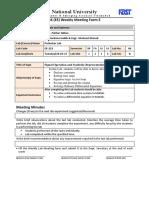 SNS Weekly Meeting Form Lab6