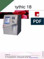 Orphee Mythic 18 Hematology Analyzer - User manual.pdf