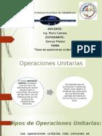 Operciones U