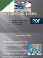 Diapositiva de Integracion Social
