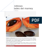Las Grandiosas Propiedades Del Mamey