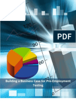Building a Business Case for Pre-employment Testing