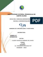 DEBER 1 ATRIBUTOS DE UN HALLAZGO BARBARA CALERO.docx