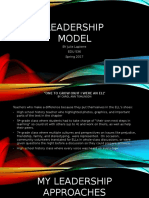 adaptive leadership questionnaire northouse