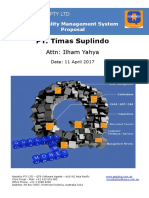 QT9 QMS Proposal 11 Apr 17 - PT Timas Suplindo - Ilham
