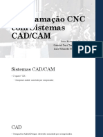 Programação CNC Com Sistemas CAD