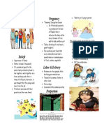 korean brochure