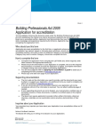 Form 1 Application for Accreditation -Private Certifiers 2015_Jan