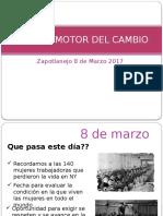 Mujeres Motor Del Cambio 1