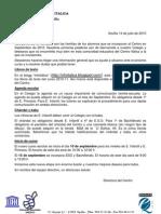 010-07-14 Carta Informativa Familias Nueva Incorporacion