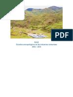 Estudios Antropológicos de Las Industrias Extractivas
