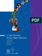 Svava Bjarnason, et al - A New Dynamic ~ Private Higher Education