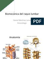 15 Biomecánica Del Raquis Lumbar