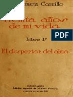 Enrique Gomez Carrillo, Treinta Años de mi vida, Tomo 1 (1).pdf
