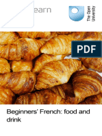 Beginners French Food and Drink