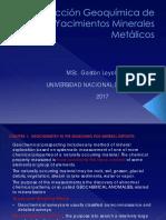 Prospección Geoquímica de Yacimientos Minerales Metalicos