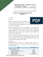 Sistem Akuntansi Beban Dan Belanja