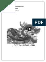 Cuti Raya Cina