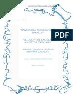 Trabajo de Investigacion - Estudios y Aplicación de Impuestos Especiales