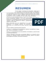 Informe 2 de laboratorio orgánica 2