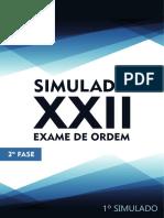 1o Simulado OAB de Bolso D. Empresarial - 2a Fase XXII Exame de Ordem