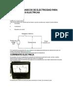Conceptos Basicos de Electricidad Para Instalaciones Electricas