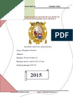 Informe Especial Maquinas Electricas