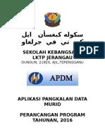 Perancangan Program Tahunan Apdm