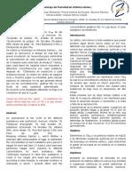 Bioensayo de Toxicidad en Artemia Salina