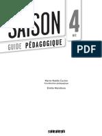 Saison 4 - Guide Pédagogique - Intro