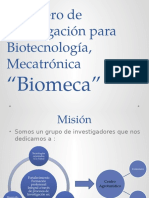 Semillero de Investigación Para Biotecnología, Mecatrónica